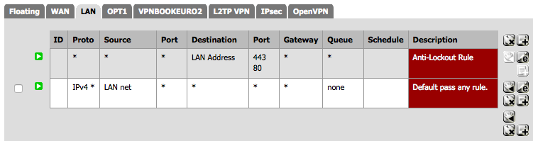 Creating a Policy Route to Send All Traffic from Host Through