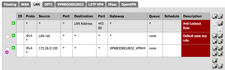 VPN Rules Out of Order Screenshot